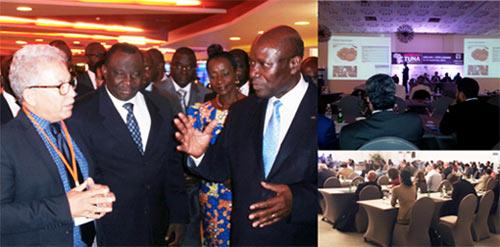 Vue d'ensemble de la première conférence africaine sur le thon.